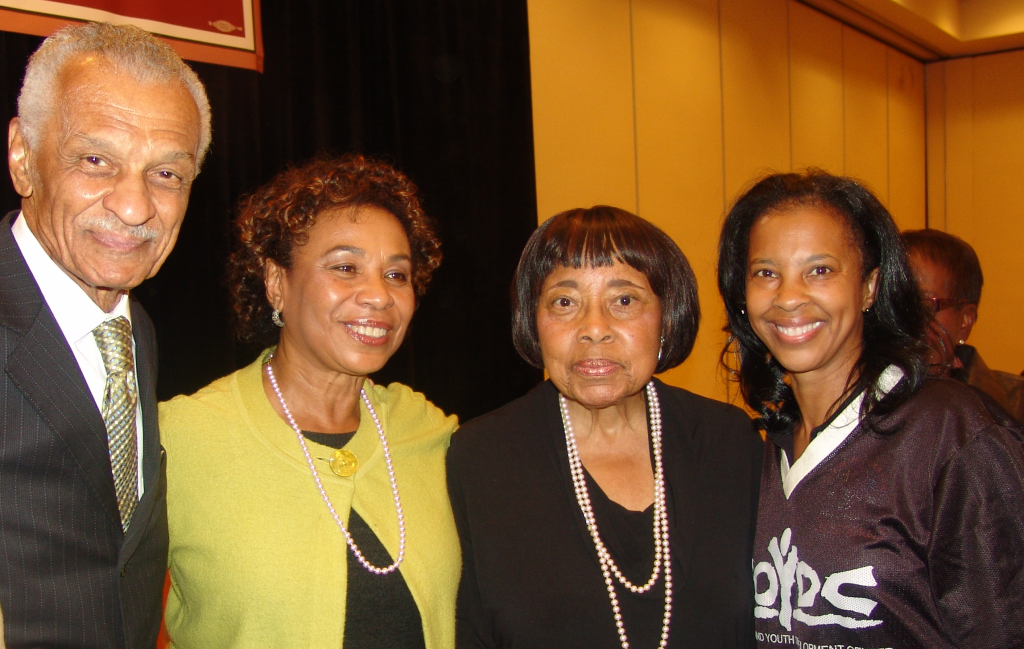 CT Vivian, Congresswoman Barbra Lee, Dorothy Cotton and Ms. Regina Jackson