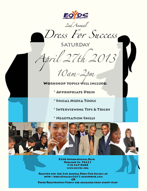 Dress For Success 2013.