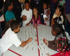 Students at EOYDC&#039;S Homework Center