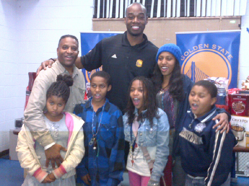 Warrior's forward Carl Landry and an Oakland family ...